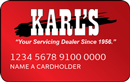 Karl's Appliance link to apply for Karl's credit card