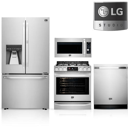 lg studio appliances kitchen package