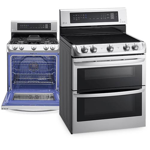 lg ranges and wall ovens