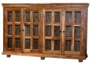 Sideboard with 24 glass panels