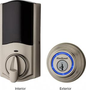KWIKSETKevo Bluetooth Smart Lock Nickel