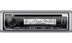 KenwoodMarine CD receiver with Bluetooth