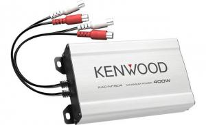 KenwoodCompact 4-channel amplifier