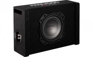 "KenwoodExcelon ported enclosure with 8"" shallow-mount subwoofer"